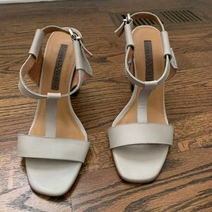 Tory Burch grey sandals